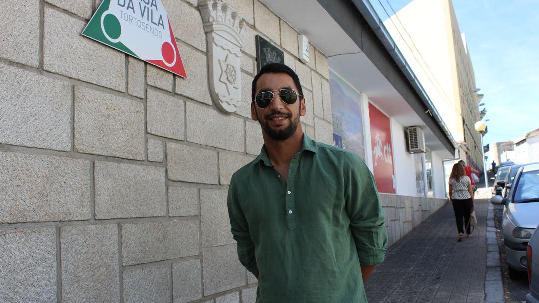 Tiago Gonçalves já trabalhou no Continente e em unidades hoteleiras. Foto: Liliana Carona/RR