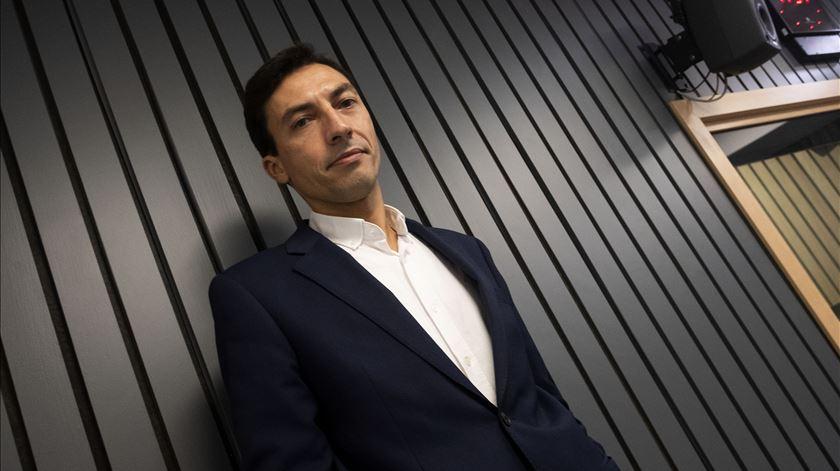"""Um Presidente liberal """"tem sempre presente uma coisa que não tem sido muito óbvia nos tempos mais recentes: o soberano é o cidadão"""", afirma Tiago Mayan Gonçalves. Foto: Paulo Pimenta/Público"""