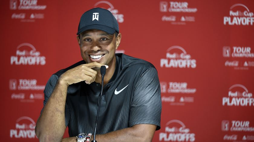 Tiger Woods volta ao Tour Championship, este ano. Foto: John David Mercer/Reuters