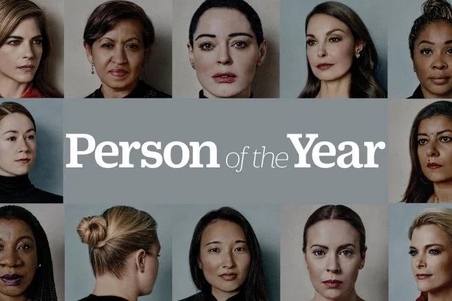Personalidade do ano da Time são vítimas de assédio sexual