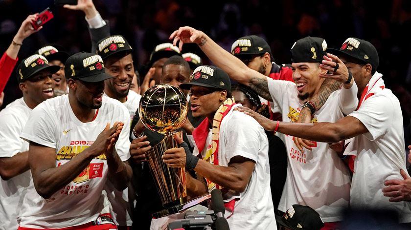Raptors venceram título da NBA pela primeira vez na história. Foto: Kyle Terada/Reuters/USA Today Pictures