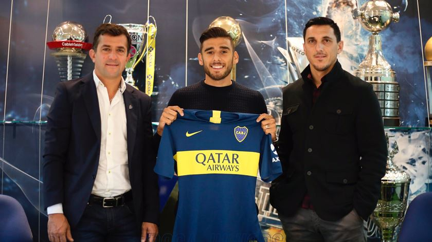"""Salvio explica o que o levou a dizer """"sim"""" ao Boca Juniors"""