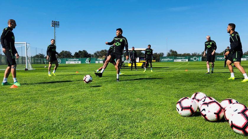 Sporting prepara Chaves com regresso de dois internacionais