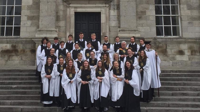 Trinity College Chapel Choir. Foto: DR.