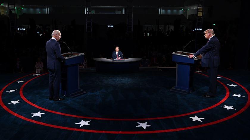 Trump e Biden no primeiro frente a frente: o essencial do caótico debate