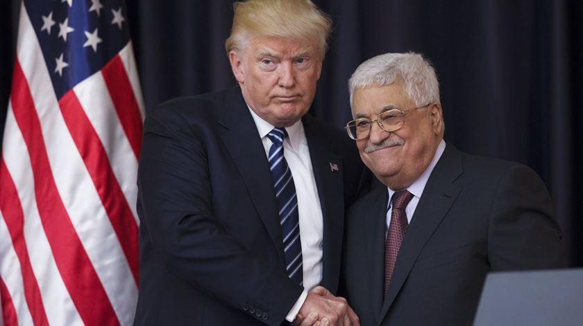 """Abbas diz não ao plano de Trump. """"Não vou ficar na história como o que vendeu Jerusalém"""""""