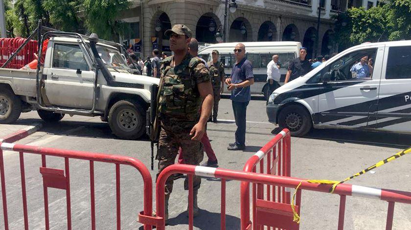 "Membro da Guarda Nacional tunisina morto em ataque ""terrorista"""