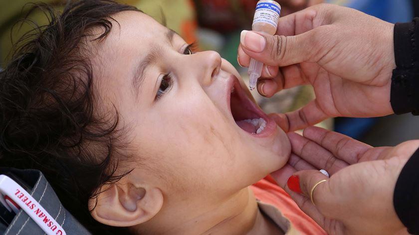 """""""Passo histórico"""". Erradicado mais um tipo do vírus da poliomielite"""