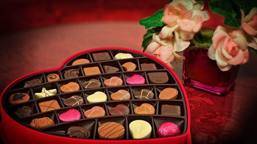 Dia dos Namorados. Norte-americanos gastam 450 milhões de dólares em doces
