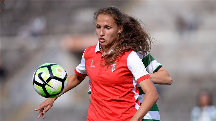 Vanessa Marques foi eleita a melhor jogadora do campeonato. Foto: SC Braga
