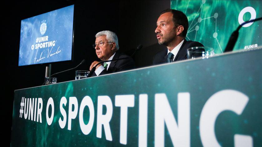 Sporting tem empréstimo para pagar. Foto: Nuno Fox/Lusa