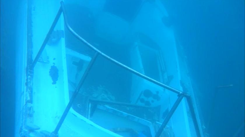 Furacão Lorenzo. Imagens subaquáticas revelam destruição do Porto das Lajes