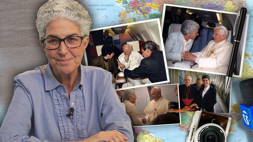 Pelo mundo fora. As 100 viagens (e as conversas) de Aura Miguel com os Papas