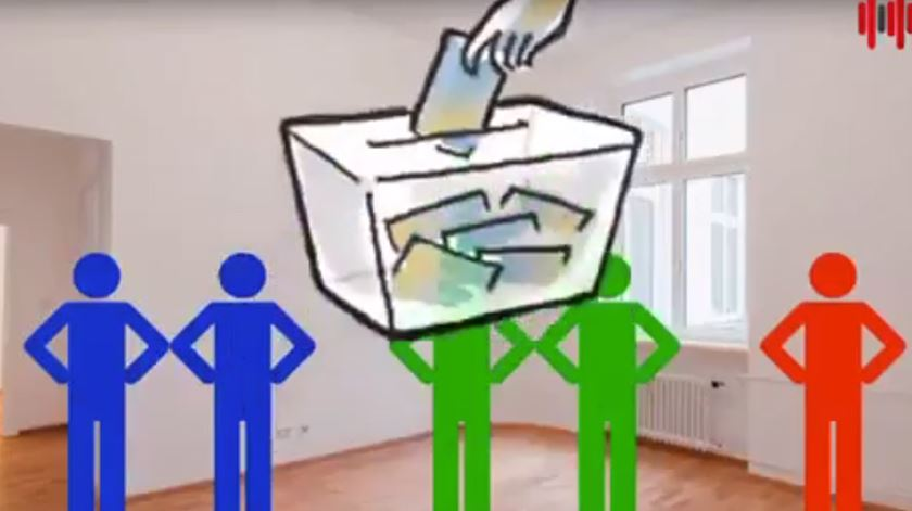 """Eleições e abstenção. Já viu o vídeo espanhol sobre comer """"m****a frita""""?"""