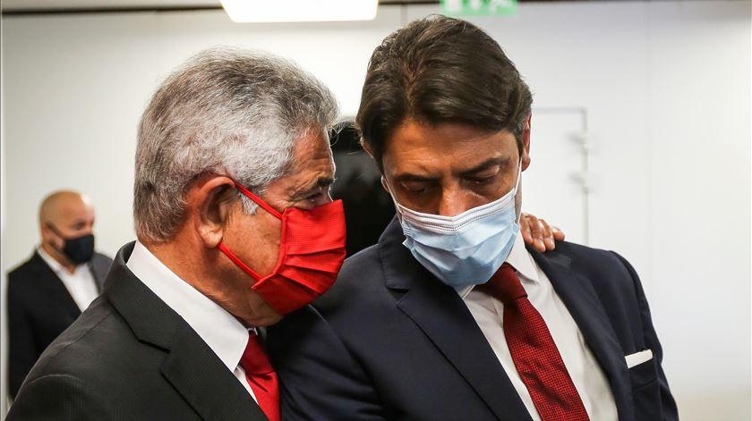 "Vieira para Rui Costa: ""Eu sou o presente do Benfica e tu o futuro"""