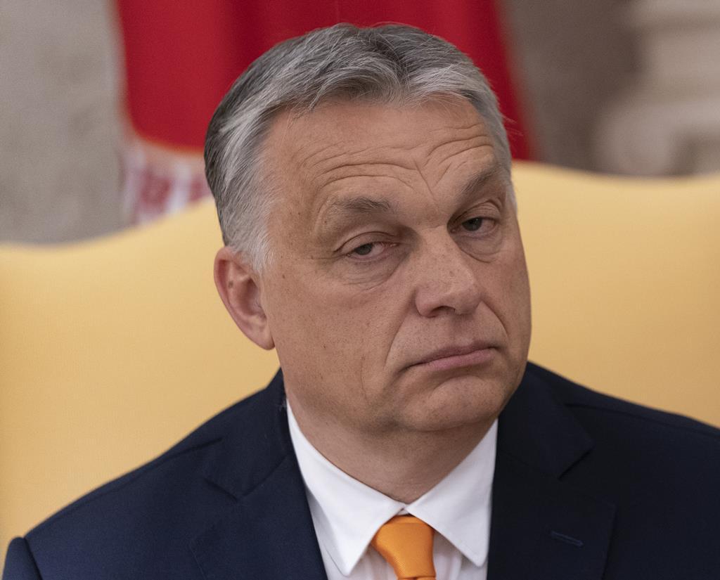 Viktor Orban, líder da Hungria. Foto: Chris Kleponis/EPA