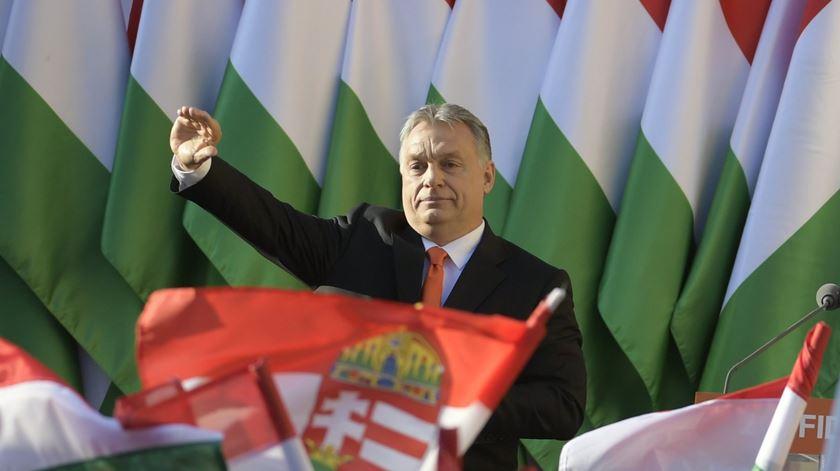 O primeiro-ministro húngaro, Viktor Orbán. Foto: Zsolt Szigetvary/EPA