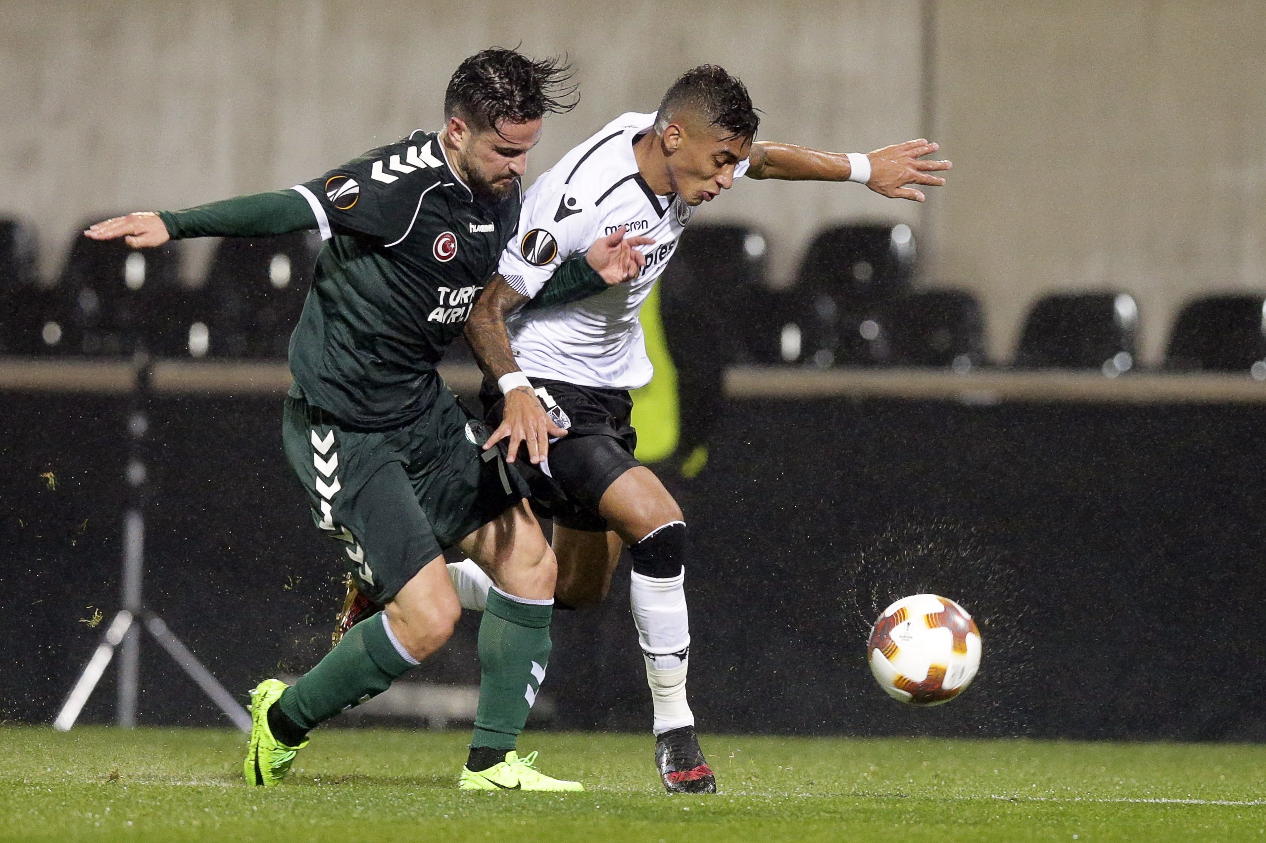 V. Guimarães arrumado da Liga Europa