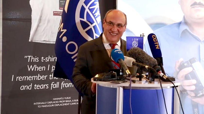 """Vitorino. """"Amizade com Guterres nunca foi problema, nem quando discordamos"""""""