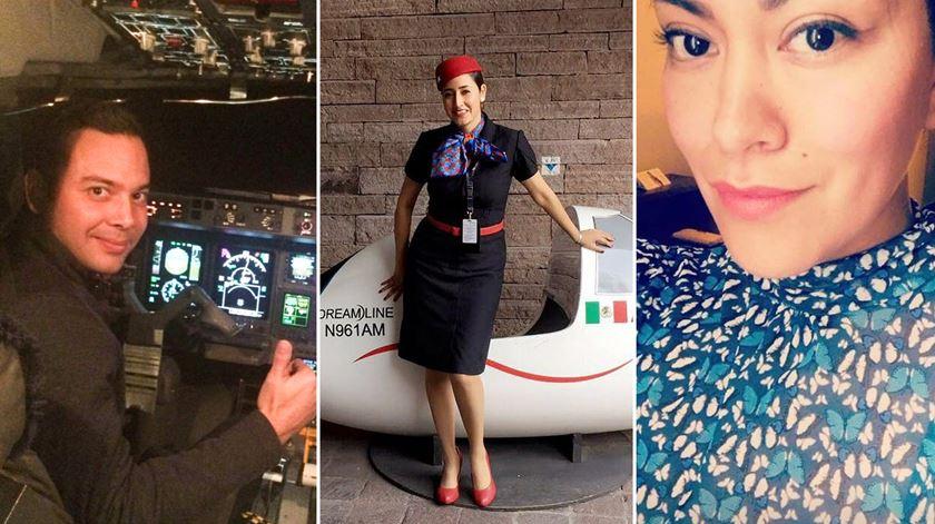 """""""Ação rápida da tripulação e dos passageiros"""" evitou tragédia no acidente da Aeroméxico"""