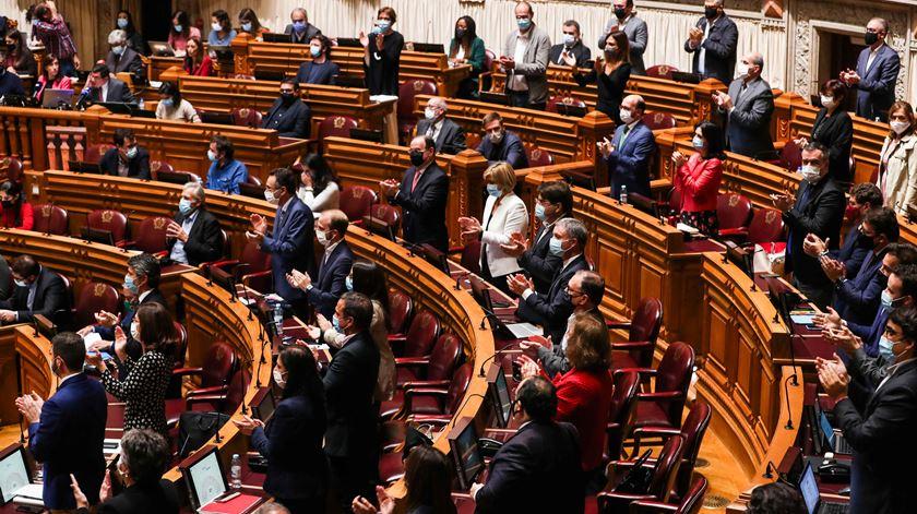 OE 2021 passou na generalidade só com os votos favoráveis do PS. Foto: José Sena Goulão/Lusa