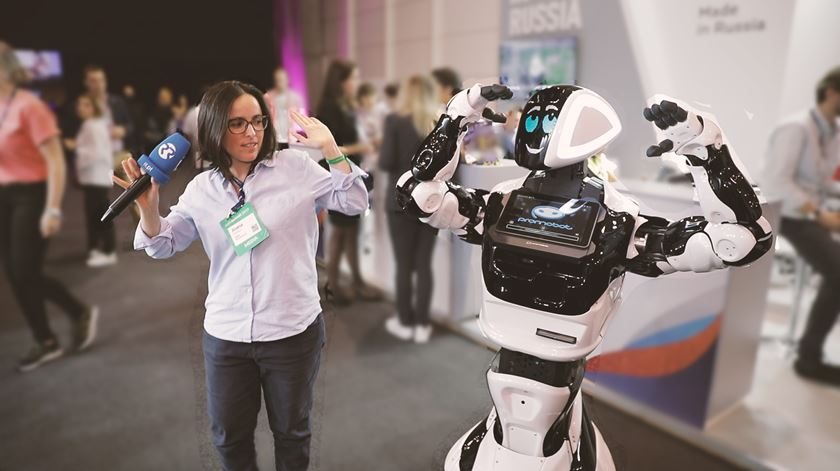 Joana Marques na Web Summit