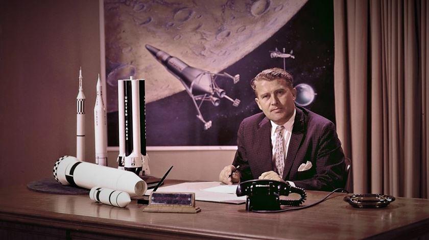 Wernher von Braun, o dissidente nazi que levou a América à Lua