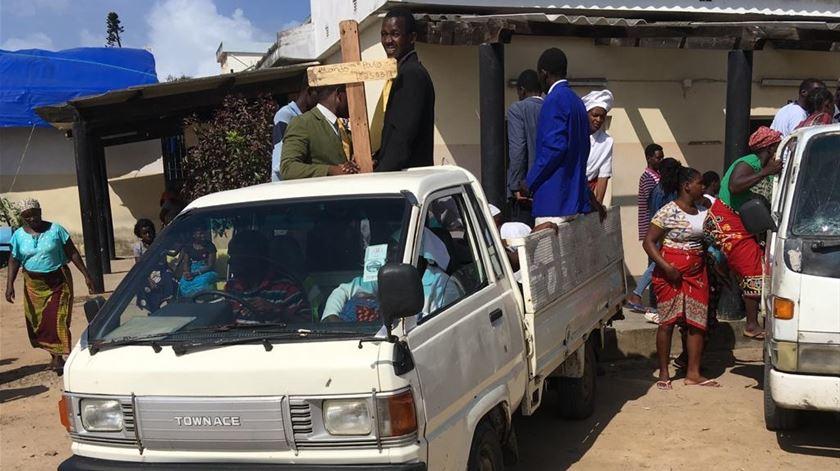 Moçambique. O último adeus a mães, pais e filhos