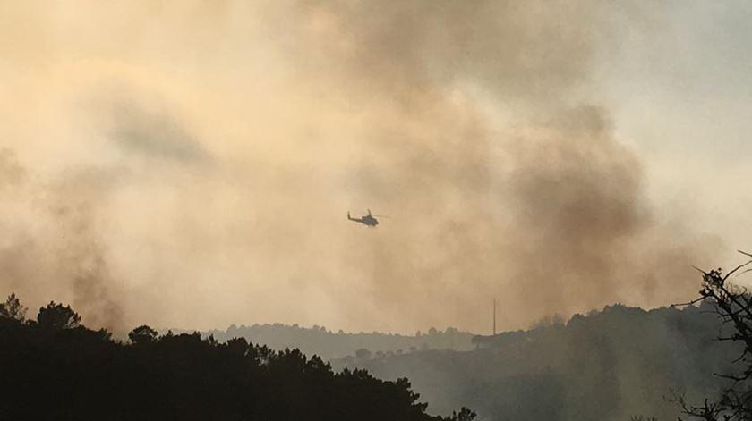 Incêndio em Aljezur, a 19 julho 2019. Foto: João Couto C.