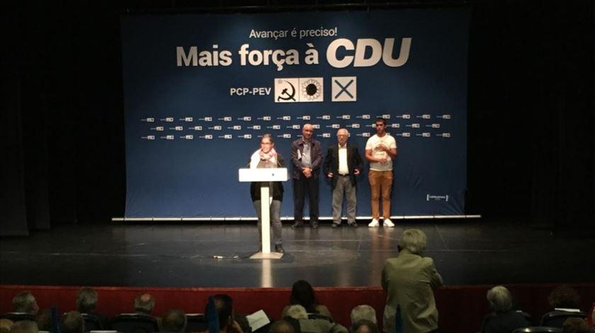 """""""Não é preciso ser comunista para votar na CDU"""""""