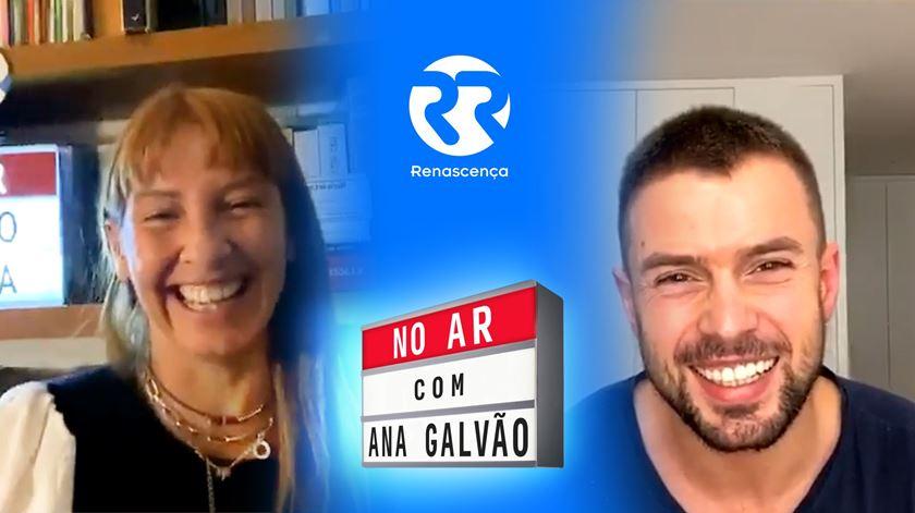 Marco Costa No Ar Com Ana Galvão