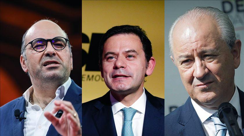 """Maçonaria, """"subalternização ao PS"""" e """"hipocrisia"""". Foi assim o debate entre candidatos a líder do PSD"""