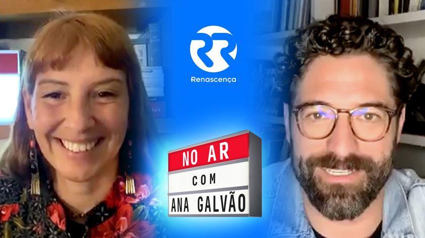 """Nuno Lopes """"No Ar Com Ana Galvão"""""""
