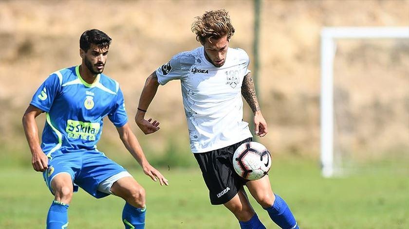Zé Pedro jogou a Taça da Liga pelo Feirense. Foto: CD Feirense