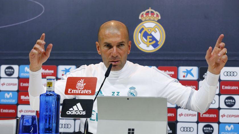 Zinedine Zidane recusa dar demasiada importância a Neymar  Foto: J. P. Gandul/EPA