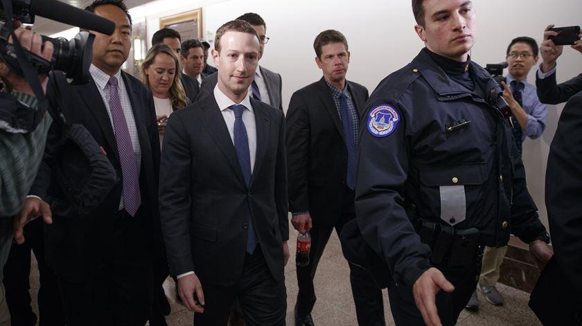 Zuckerberg dirá no congresso que não sabia o que era feito com os dados