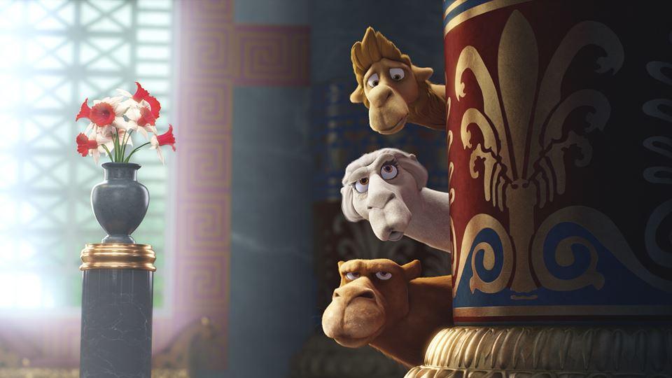 3 camelos sábios, 2 deles têm as vozes do Nilton e do António Raminhos