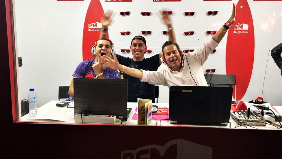 Marcos André, Pedro Simões e Pete tha Zouk