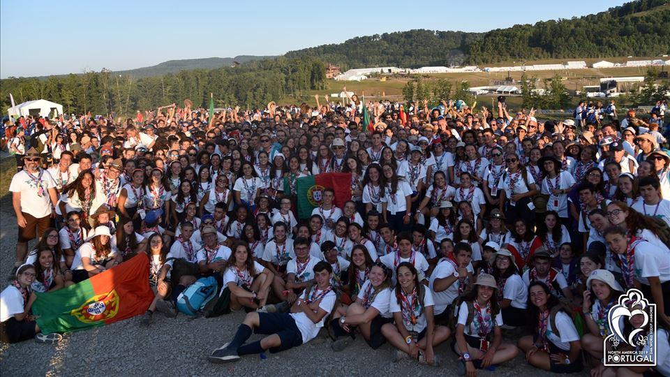 Contingente português no Jamboree 2019