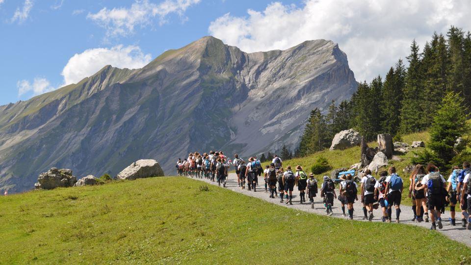 Agrupamento 512-Peniche em Kandersteg, Suíça