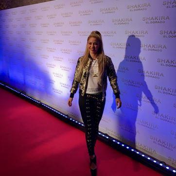 Shakira no Convent Del Angels em Barcelona