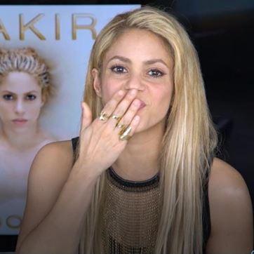 Shakira anuncia concerto RFM