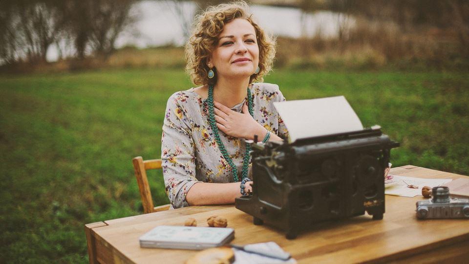 Como a máquina de escrever mud...