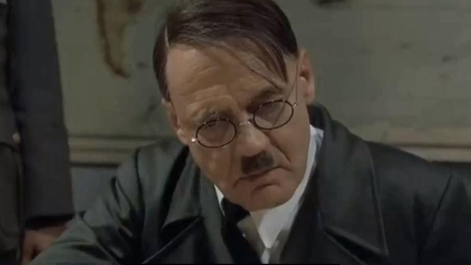 Até Hitler está desesperado co...