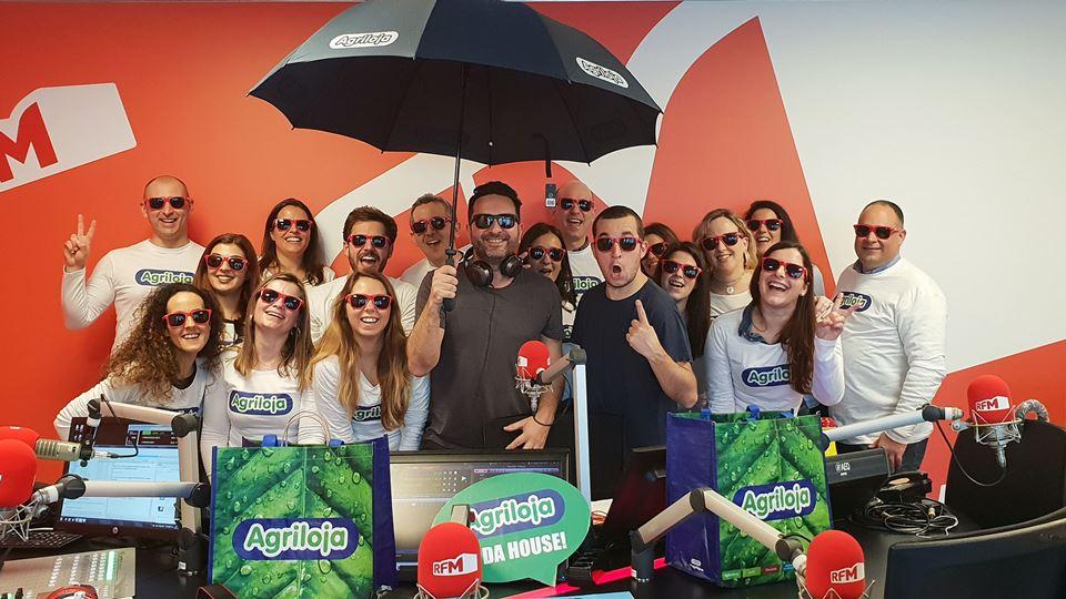 Equipa Agriloja com os Fridayboyz 18 Janeiro 2019