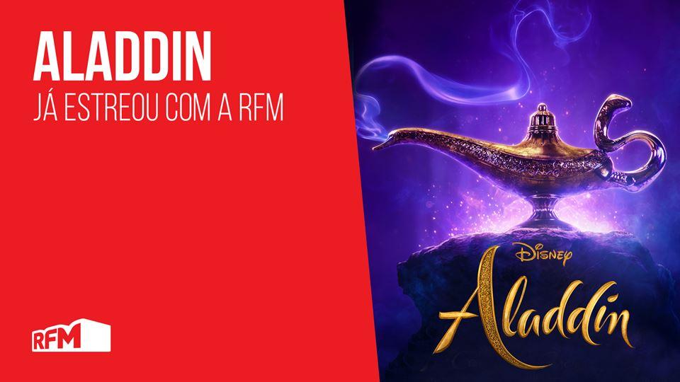 Aladino - novo filme RFM