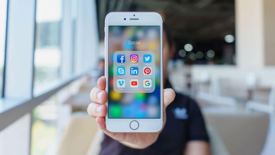 Aplicações no telemóvel