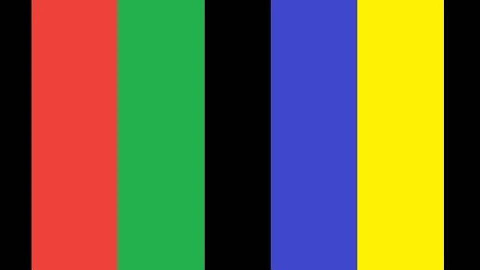 As cores proibidas