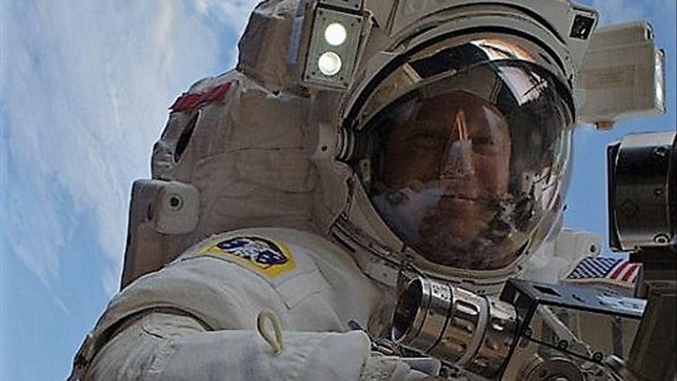 O astronauta fã dos U2