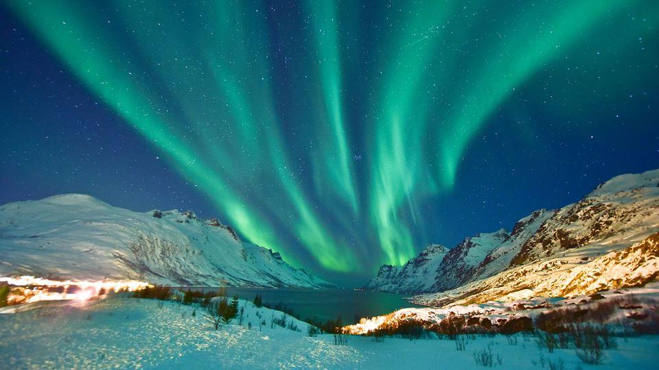 Podes ver auroras boreais sem ...